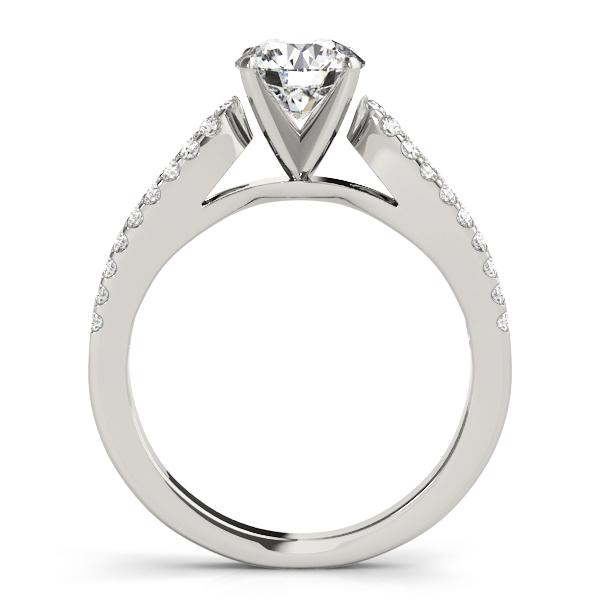 14k-white-gold-multirow-round-shape-diamond-engagement-ring-84272-14K-White-Gold