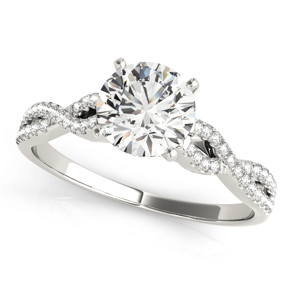 14k-white-gold-multirow-round-shape-diamond-engagement-ring-84274-14K-White-Gold