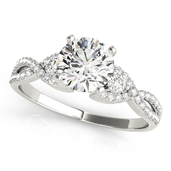 14k-white-gold-multirow-round-shape-diamond-engagement-ring-84280-14K-White-Gold