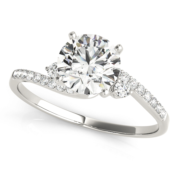14k-white-gold-bypass-round-shape-diamond-engagement-ring-84287-14K-White-Gold