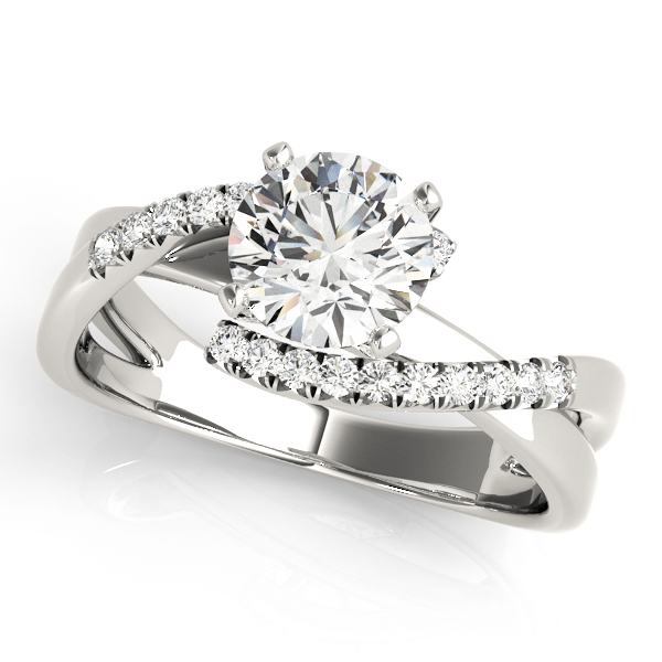 14k-white-gold-bypass-round-shape-diamond-engagement-ring-84291-14K-White-Gold