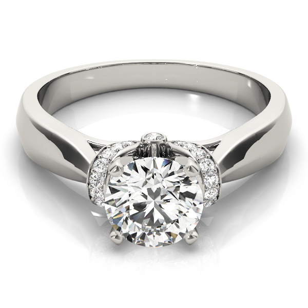 14k-white-gold-solitaire-round-shape-diamond-engagement-ring-84295-14K-White-Gold