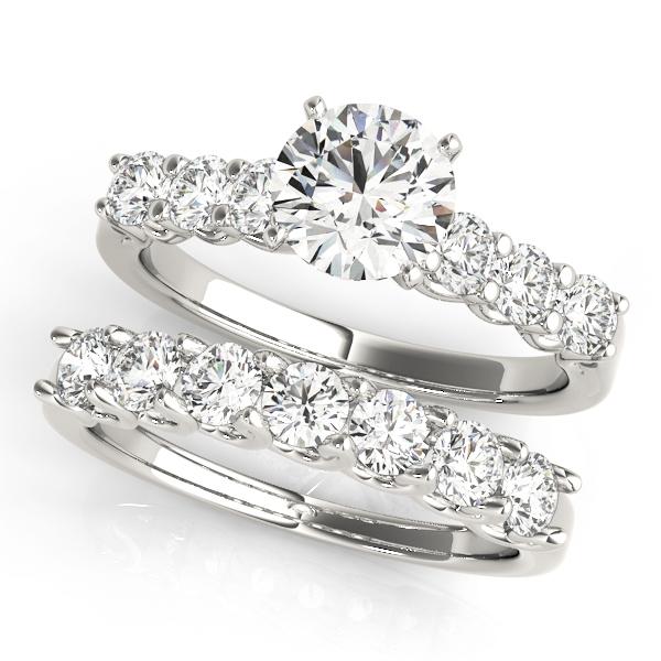 14k-white-gold-single-row-round-shape-diamond-engagement-ring-84305-14k-white-gold