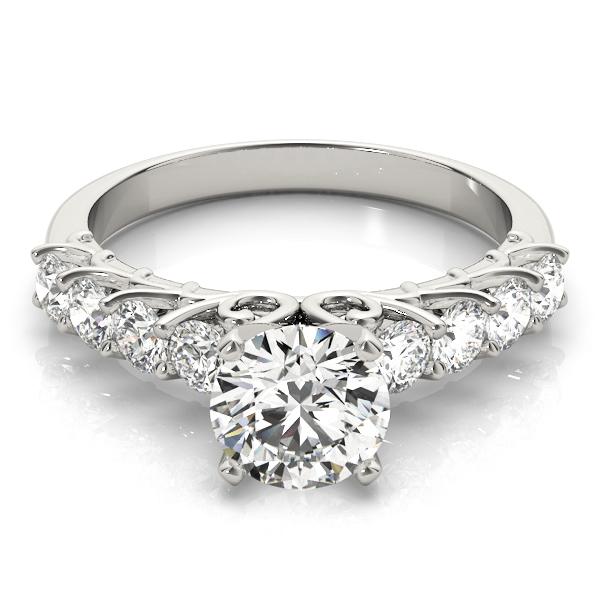 14k-white-gold-single-row-round-shape-diamond-engagement-ring-84308-14k-white-gold