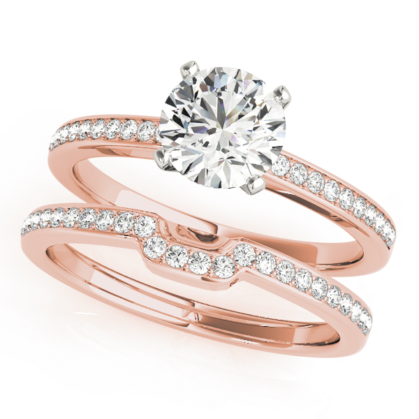 14k-rose-gold-single-row-round-shape-diamond-engagement-ring-84323-14K-Rose-Gold