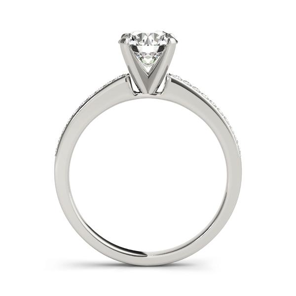 14k-white-gold-single-row-round-shape-diamond-engagement-ring-84323-14K-White-Gold