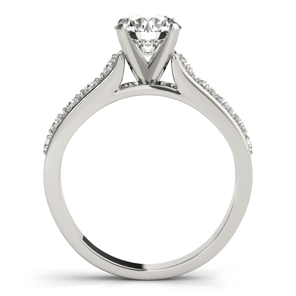 14k-white-gold-single-row-round-shape-diamond-engagement-ring-84325-14K-White-Gold