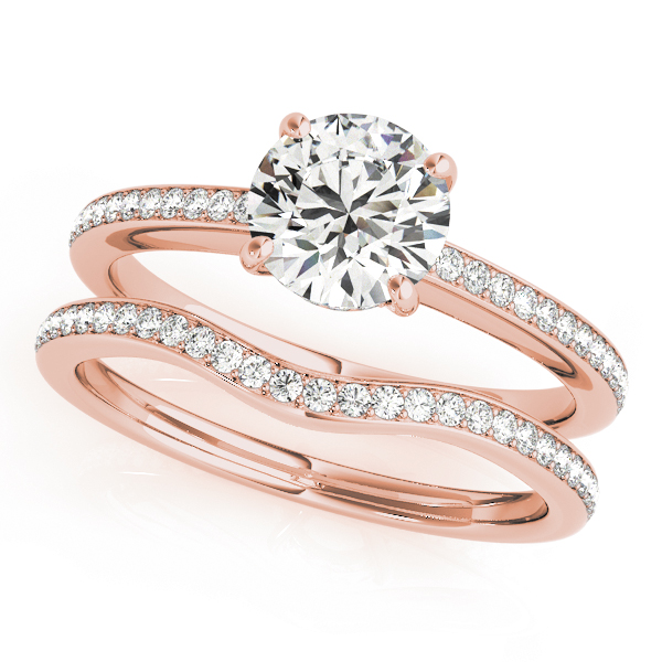 14k-rose-gold-single-row-round-shape-diamond-engagement-ring-84350-E-2-14K-Rose-Gold