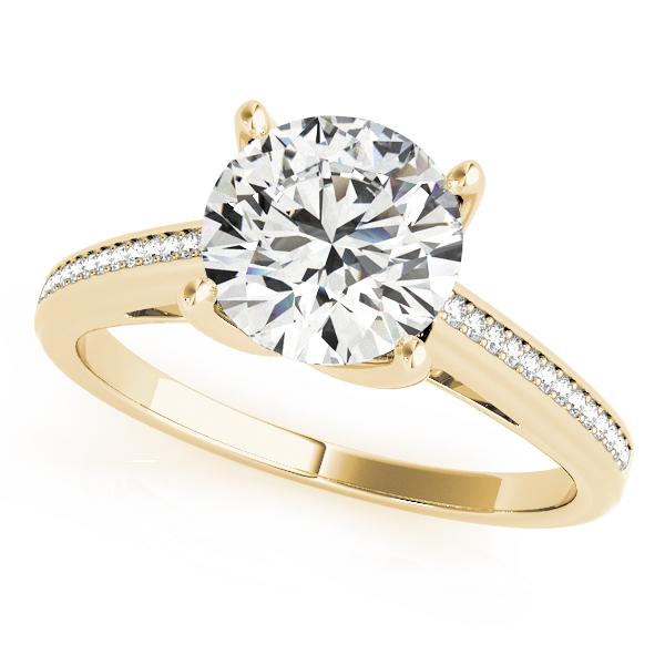 18k-yellow-gold-single-row-round-shape-diamond-engagement-ring-84351-18K-Yellow-Gold