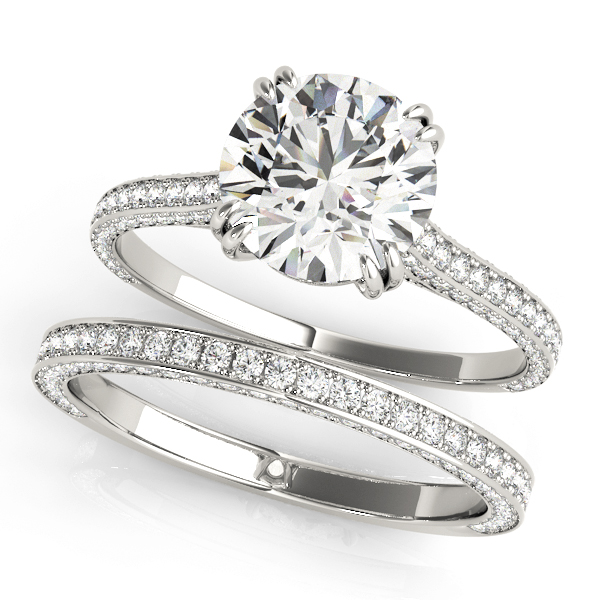 14k-white-gold-single-row-round-shape-diamond-engagement-ring-84352-E-1-14K-White-Gold