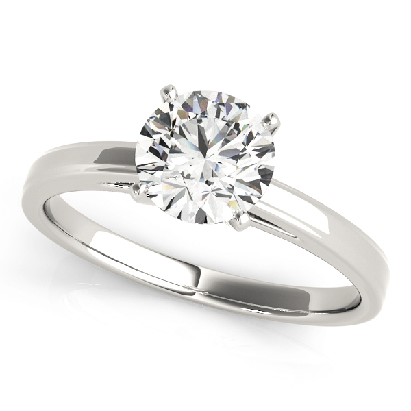 14k-white-gold-solitaire-round-shape-diamond-engagement-ring-84357-14K-White-Gold