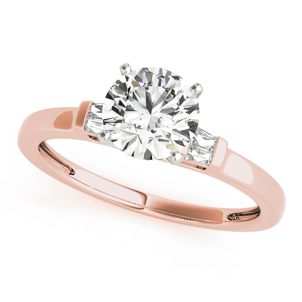 14k-rose-gold-pave-round-shape-diamond-engagement-ring-84358-14K-Rose-Gold