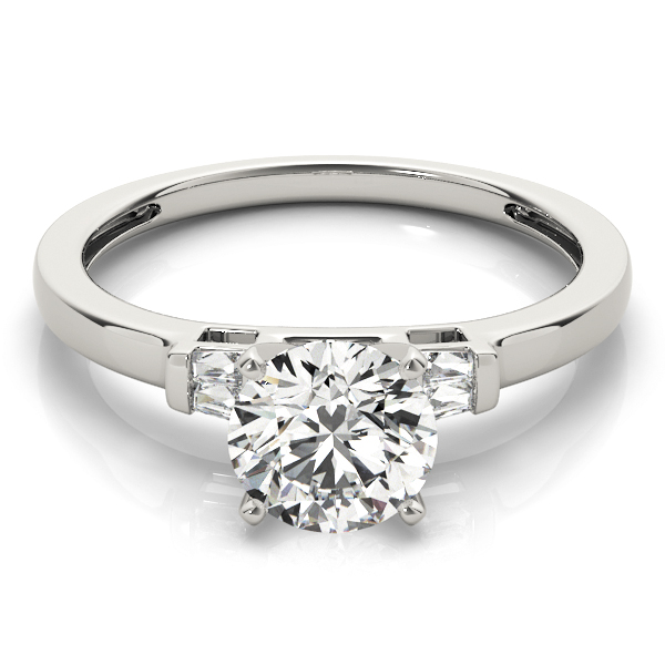 18k-white-gold-pave-round-shape-diamond-engagement-ring-84358-18K-White-Gold