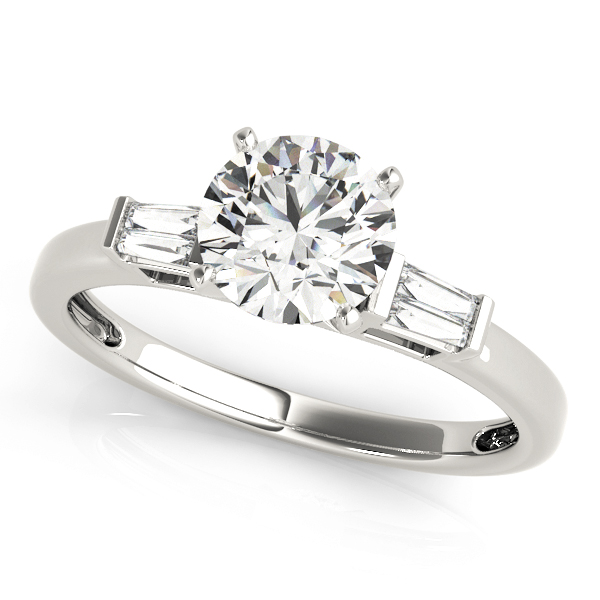 14k-white-gold-pave-round-shape-diamond-engagement-ring-84359-14K-White-Gold