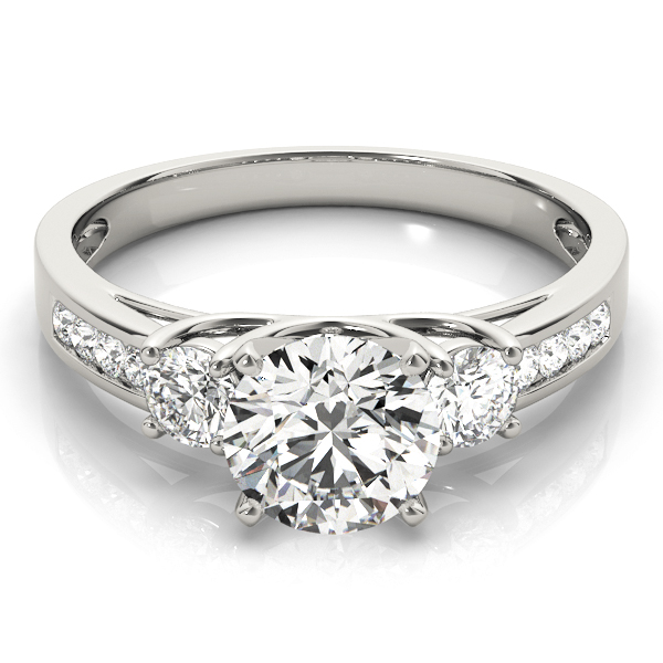 14k-white-gold-three-stone-round-shape-diamond-engagement-ring-84363-14K-White-Gold