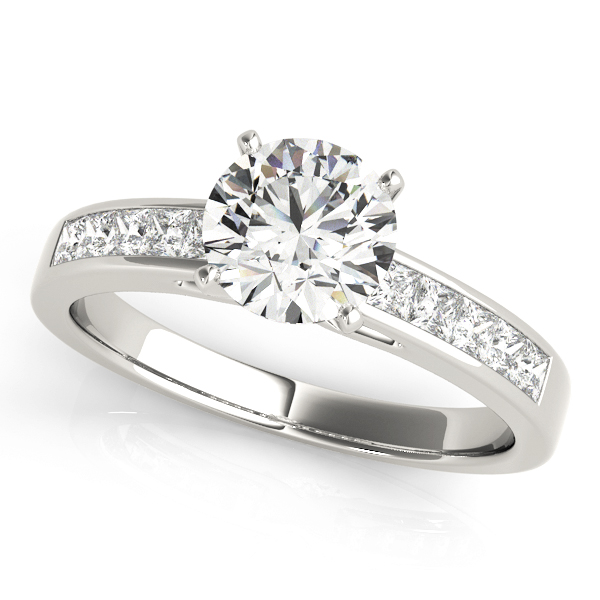 14k-white-gold-pave-round-shape-diamond-engagement-ring-84364-14K-White-Gold