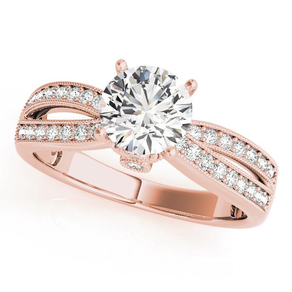 14k-rose-gold-multirow-round-shape-diamond-engagement-ring-84386-14K-Rose-Gold