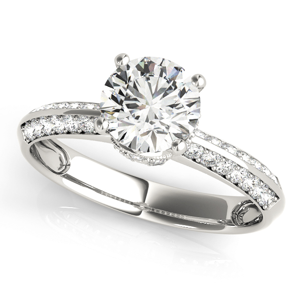 14k-white-gold-pave-round-shape-diamond-engagement-ring-84387-14K-White-Gold