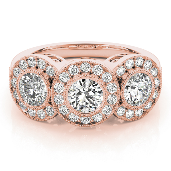 14k-rose-gold-three-stone-round-shape-diamond-engagement-ring-84448-14K-Rose-Gold