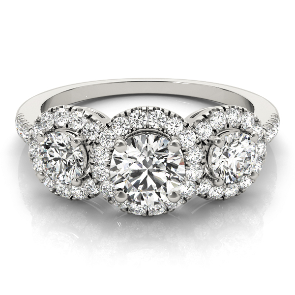 14k-white-gold-three-stone-round-shape-diamond-engagement-ring-84449-14K-White-Gold