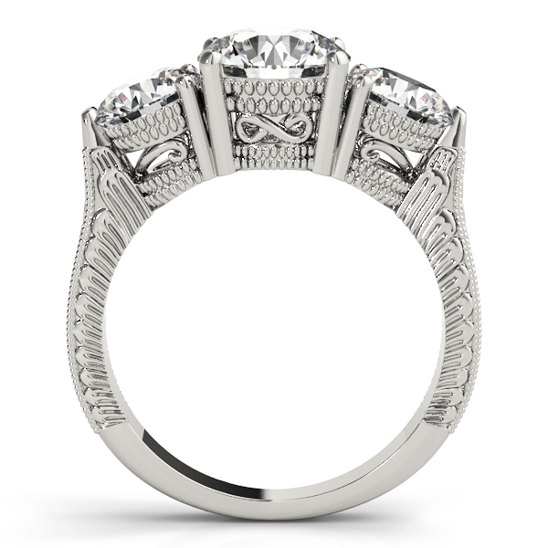 14k-white-gold-three-stone-round-shape-diamond-engagement-ring-84462-14K-White-Gold