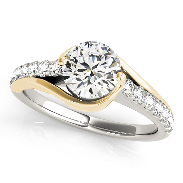 14k-white-gold-single-row-round-shape-diamond-engagement-ring-84669-14K-White-Gold