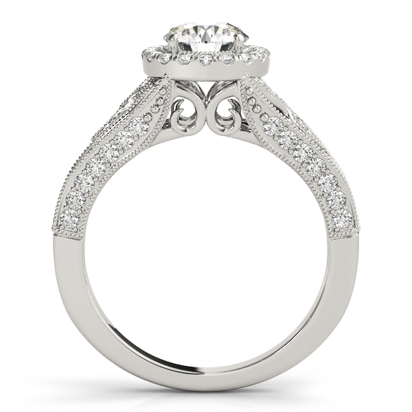 14k-white-gold-halo-round-shape-diamond-engagement-ring-84673-14K-White-Gold