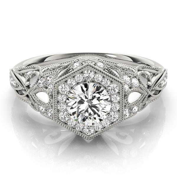 14k-white-gold-vintage-round-shape-diamond-engagement-ring-84676-1-14K-White-Gold