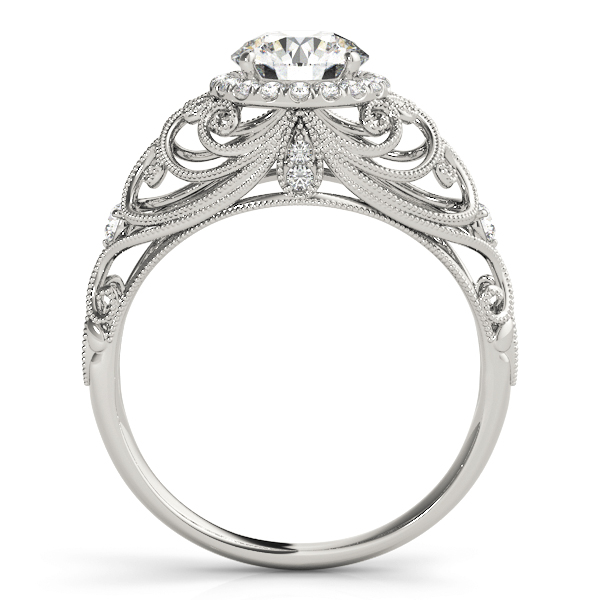 14k-white-gold-vintage-round-shape-diamond-engagement-ring-84680-14K-White-Gold