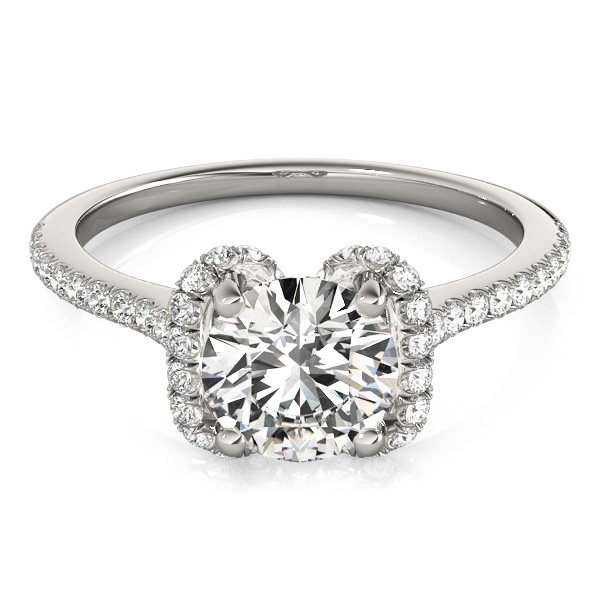 14k-white-gold-single-row-round-shape-diamond-engagement-ring-84746-14K-White-Gold