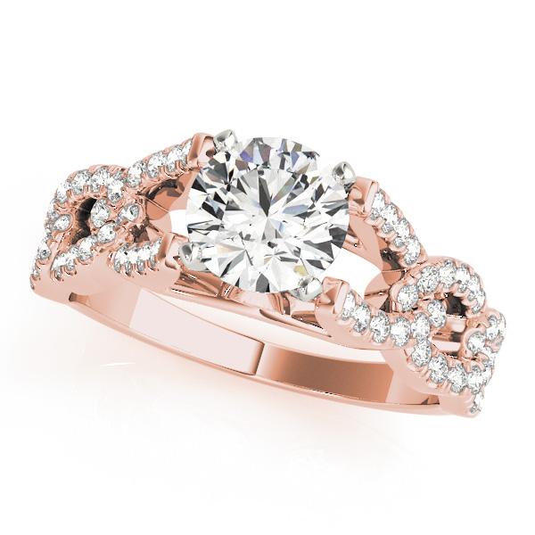 14k-rose-gold-multirow-round-shape-diamond-engagement-ring-84748-14K-Rose-Gold