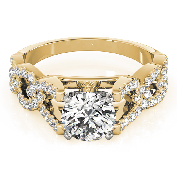 14k-yellow-gold-multirow-round-shape-diamond-engagement-ring-84748-14K-Yellow-Gold