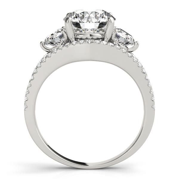 14k-white-gold-three-stone-round-shape-diamond-engagement-ring-84806-14K-White-Gold