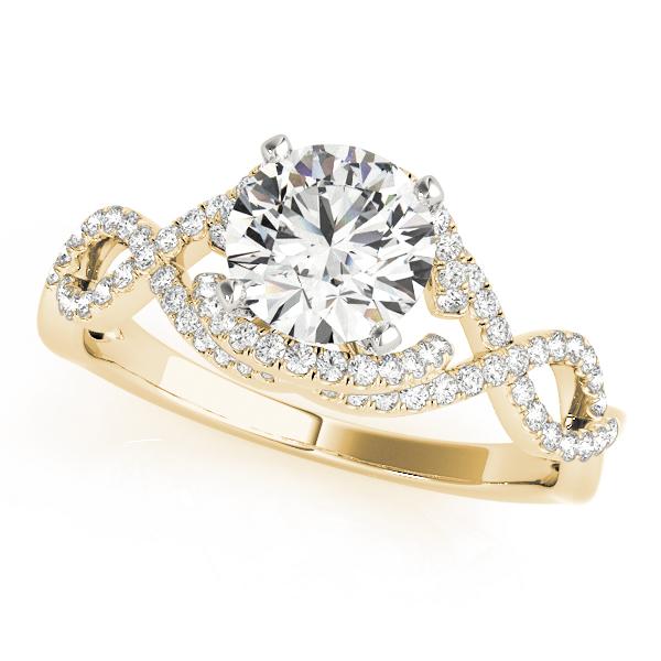 14k-yellow-gold-multirow-round-shape-diamond-engagement-ring-84813-14K-Yellow-Gold