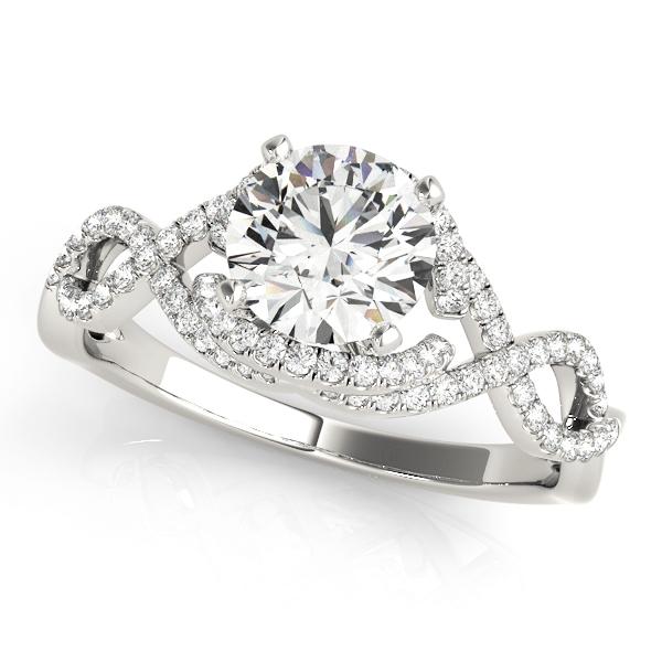 platinum-multirow-round-shape-diamond-engagement-ring-84813-Platinum