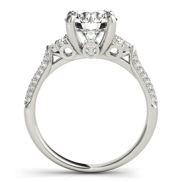 14k-white-gold-side-stone-round-shape-diamond-engagement-ring-84814-14K-White-Gold