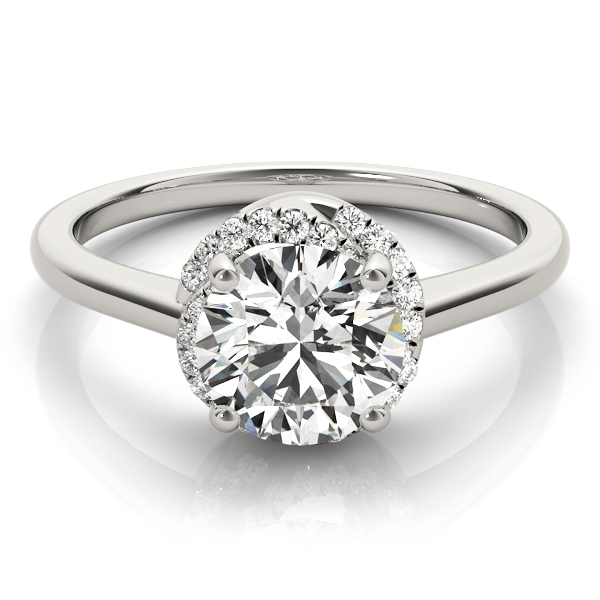 14k-white-gold-halo-round-shape-diamond-engagement-ring-84820-14K-White-Gold