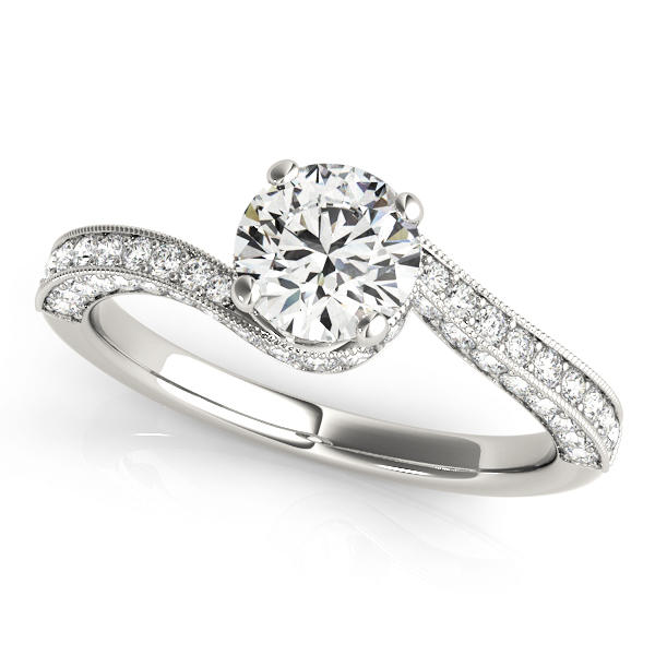 14k-white-gold-bypass-round-shape-diamond-engagement-ring-84821-14K-White-Gold
