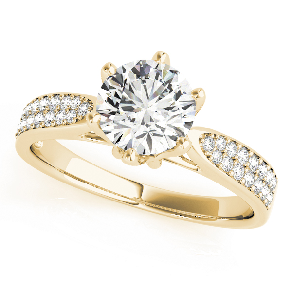 18k-yellow-gold-pave-round-shape-diamond-engagement-ring-84826-18K-Yellow-Gold