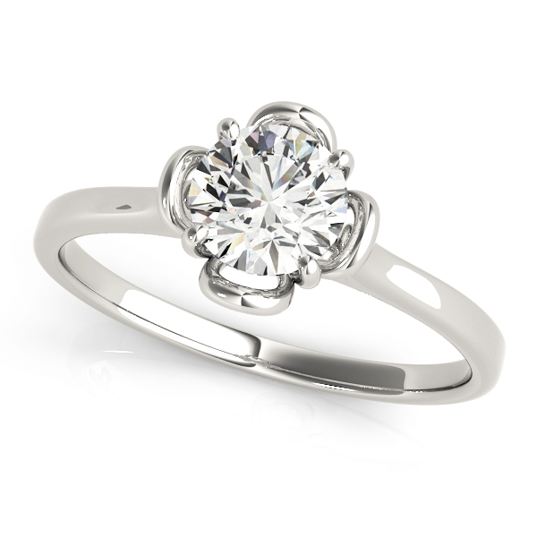14k-white-gold-solitaire-round-shape-diamond-engagement-ring-84829-14K-White-Gold