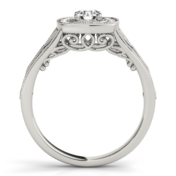 14k-white-gold-vintage-round-shape-diamond-engagement-ring-84830-14K-White-Gold