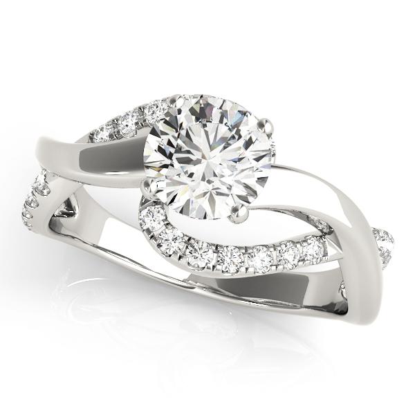 14k-white-gold-bypass-round-shape-diamond-engagement-ring-84832-14K-White-Gold