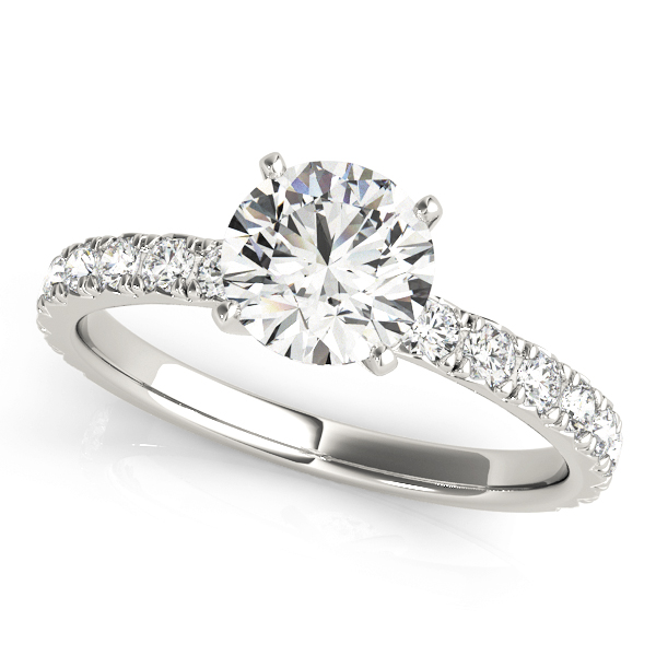 14k-white-gold-single-row-round-shape-diamond-engagement-ring-84842-1-14K-White-Gold