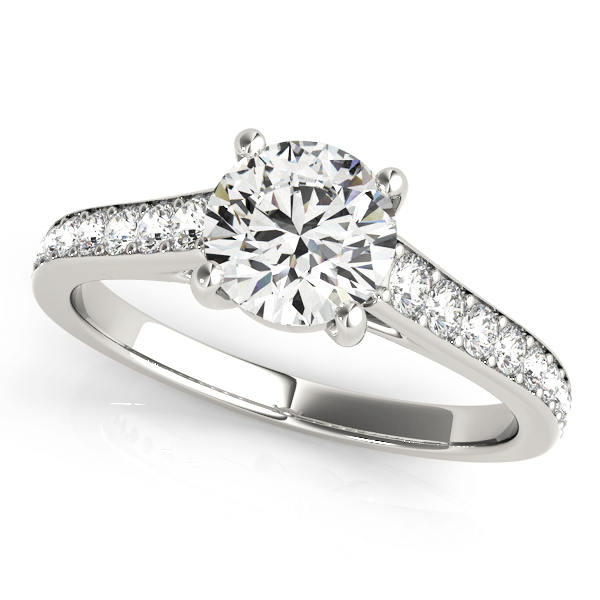 14k-white-gold-single-row-round-shape-diamond-engagement-ring-84843-1-14K-White-Gold