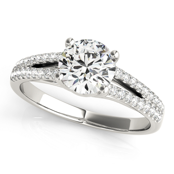 14k-white-gold-multirow-round-shape-diamond-engagement-ring-84847-1-14K-White-Gold