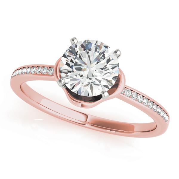 14k-rose-gold-vintage-round-shape-diamond-engagement-ring-84875-14K-Rose-Gold