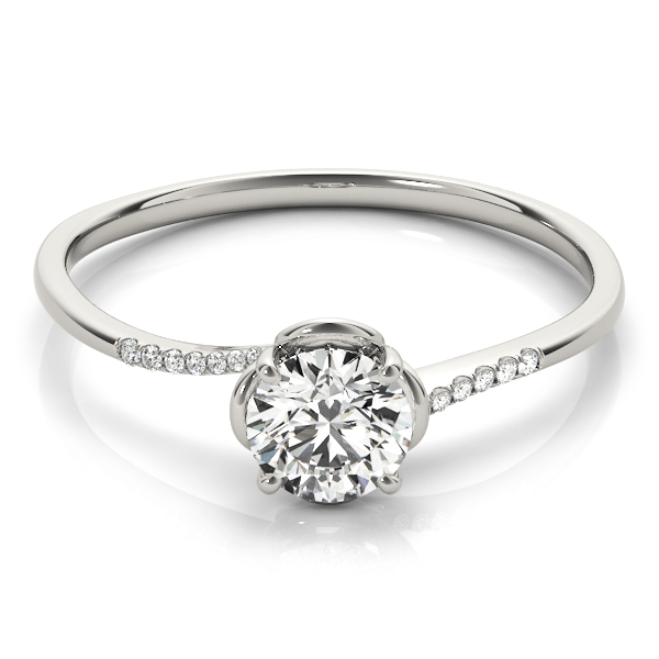 14k-white-gold-bypass-round-shape-diamond-engagement-ring-84881-14K-White-Gold