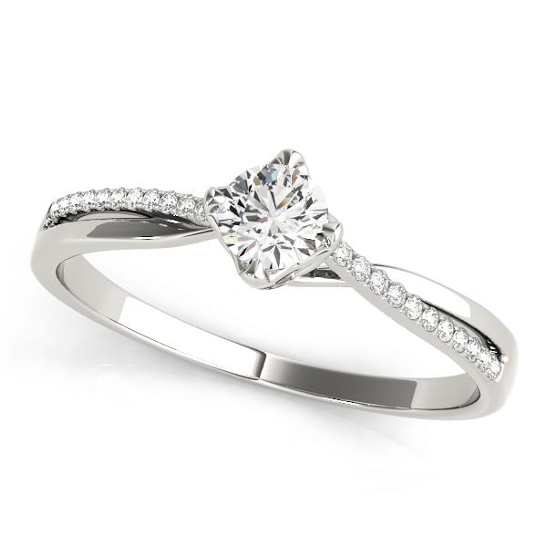 14k-white-gold-single-row-round-shape-diamond-engagement-ring-84888-14K-White-Gold