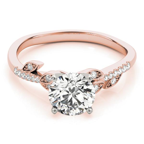 14k-rose-gold-single-row-round-shape-diamond-engagement-ring-84890-14K-Rose-Gold