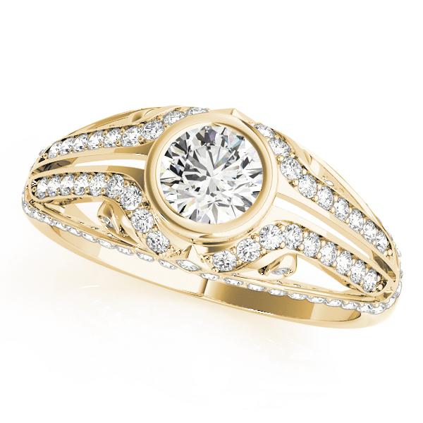 14k-yellow-gold-vintage-round-shape-diamond-engagement-ring-84892-14K-Yellow-Gold